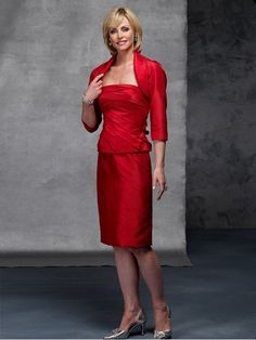 Elegant Red Satin Knee Length Cheap Simple Mother Of The Bride Dress In Canada Mother of Bride Dress Prices 💟$213.99 from http://www.www.dressosity.com   #red #mywedding #bride #prices #bridal #weddingdress #simple #bridalgown #the #dress #elegant #length #wedding #cheap #in #mother #satin #canada #of #knee