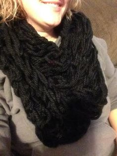 Infinity chunky arm knit scarfs by KraftieCarrie on Etsy https://www.etsy.com/listing/222896437/infinity-chunky-arm-knit-scarfs