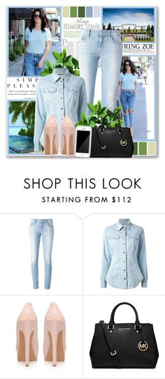 """""""At Your Inconvenience..."""" by dora-1111 ❤ liked on Polyvore featuring Topshop, Department 5, Moschino, Jessica Simpson, MICHAEL Michael Kors and Squair"""