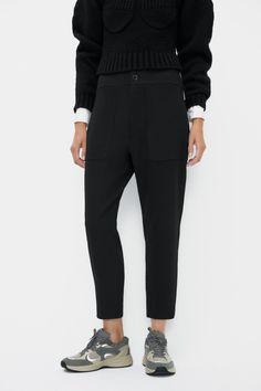 TEXTURED TROUSERS   ZARA Spain Welt Pocket, Zara Spain, Zip, Suits, Trousers, Exterior, Closure, Pockets, Texture
