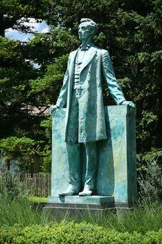 Lincoln (Statue) in Champaign County, Illinois.