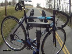 "Thule Hitching Post Pro - Folding Tilting 4 Bike Rack w Anti-Sway - 1-1/4"" and 2"" Hitches Thule Hitch Bike Racks TH934XTR"