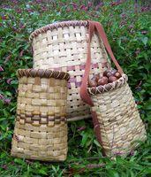 pattern for basket quiver | Practical Primitive | Basketry Workshops