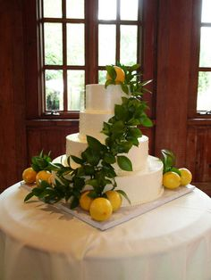 using lemons and limes as part of the decoration might be refreshing in the middle of the summer