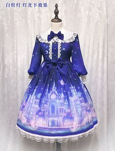 #LolitaUpdate: There's 1 [-♥★-Castle of Fantasy OP Dress-♥★-] left, can be shipped out within 24 hours >>> http://www.my-lolita-dress.com/angel-s-heart-castle-of-fantasy-long-sleeves-lolita-op-ah-17