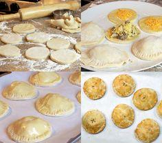 Handheld breakfast pot pies!
