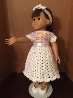 A personal favorite from my Etsy shop https://www.etsy.com/listing/294519033/ag-white-and-variated-dress-with