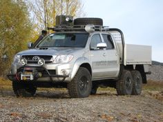 Hilux 6X6 Photo Gallery < 6X6 < Toyota < Brands < Arctic Trucks