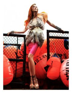 Karlie Kloss by Greg Kadel for Numéro #129