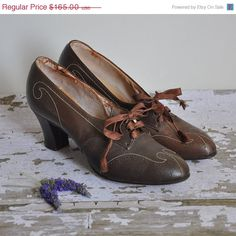 vintage 1930's swing dance shoes
