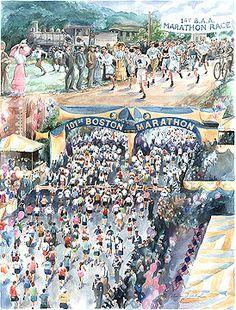 Boston Marathon Poster