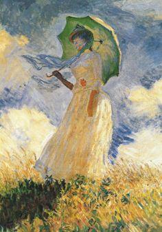 Parasol- Claude Monet