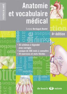 ANATOMIE ET VOCABULAIRE MÉDICAL - 2014 - 610 BER
