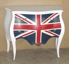 flag furniture - Bing Images Cousin, Mini Coopers, Union Jack, Furniture Decor, Bing Images, Repurposed, Beach House, How To Memorize Things, Interior Decorating