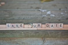 save our date   letters   love.