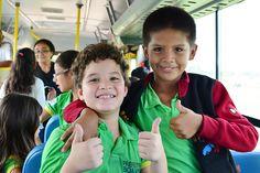 Alunos de escola municipal fazem passeio para conhecer melhor Boa Vista #pmbv #boavista #prefieturaboavista #ora