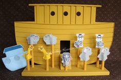 Puppets-Noah's ark