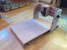Mini CNC Router Mill Table made from Plywood
