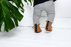 Mockies High boots Brown Babyshoes