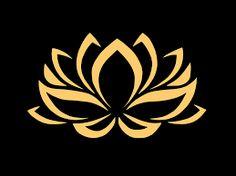 Resultado de imagem para flor de lotus desenho