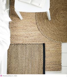 IKEA's new Nipprig Collection is a Woven and Rattan Delight Ikea Rug, Ikea Lamp, Sinnerlig Ikea, Ikea Decor, Tapis Design, Carpet Trends, Floor Rugs, Carpet Runner, Beach Cottages