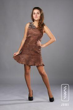 Nuno felt dress  Handmade using silk and soft wool  by JumiFelt, $194.00