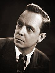 What's My Line? -  Moderator John Charles Daly 1950 CBS publicity photo for the show