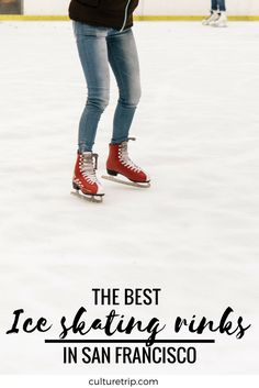 Where To Find The Best Ice Skating Rinks In & Around San Francisco San Francisco Travel Guide, Ice Skating, Bay Area, Night Life, North America, Skate, United States, Good Things, Dreams
