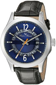 online shopping for Lucien Piccard Men's Oxford Analog Display Quartz Black Watch from top store. See new offer for Lucien Piccard Men's Oxford Analog Display Quartz Black Watch Cool Watches, Watches For Men, Wrist Watches, Lucien Piccard, Oxford Blue, Modern Man, Watches Online, Luxury Watches, Black Leather