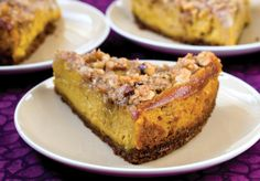 Pumpkin Cheesecake Pie. We prefer the consistency and flavor of canned pumpkin for this insanely popular fall dessert.