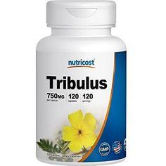 Nutricost Tribulus 750mg #VitaminsDietarySupplements