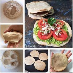 Tortillas saludables en 5 minutos. Esta y mas recetas en mi blog ✨✨✨www.sweetfran.cl✨✨✨. Esta es una excelente opción para reemplazar el pan en colaciones o comidas, quedan crujientes tipo galleta, se pueden preparar dulces o saladas y lo mejor es que no te tomara nada de tiempo preparar varias para tu semana. También es ideal para pizzas!!! ✨ Ingredientes para unas 4 aprox: -1/2 taza de harina de avena, integral o la que ocupes. -3 a 4 cdas de agua tibia. -pizca de sal y ajo (puedes…