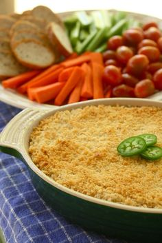 Jalapeño Popper Dip will be very popular with your guests, you may want to keep the recipe a secret!