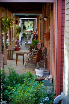 Cottage Home Neighborhood porches in Indianapolis IN