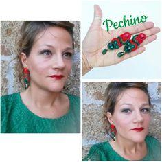 Pechino #earrings #orecchini #soutache