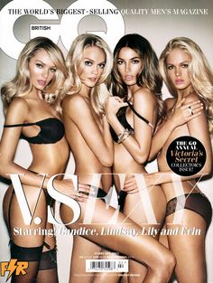 VICTORIA'S SECRET MODELS February 2011