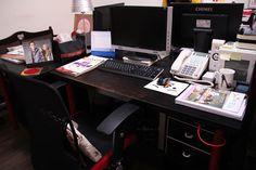 RCT 辦公桌一角