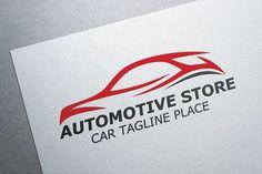 Automotive Store Logo by Heavtryq Design on @creativemarket