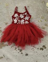 Ooh La La Couture Infant Red Onesie Dress Fleur Girls Special Occasion Dresses, Girls Formal Dresses, Girls Party Dress, Flower Girl Dresses, Wedding Dresses, Ooh La La Couture, Onesie Dress, Girls Christmas Dresses, Onesies