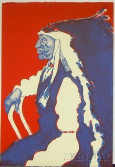 Scholder originally established himself as a Native American artist specializing in Pop Art depictions of his own people. Later, he self-identified as a German painter. Technically, he could claim both heritages, as his father was half LuiseÒo Indian and half German. As a teacher at Santa Fe's Institute of American Indian Arts during the 1960s, Scholder inspired an entire generation of Native American artists.