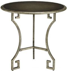 Visit The Home Depot to buy Home Decorators Collection Greek Silver Large Key Table 0147910250 End Tables For Sale, Round End Tables, Side Tables, Metal Furniture, Unique Furniture, Living Room Furniture, Accent Furniture, Paint Colors For Living Room, New Living Room