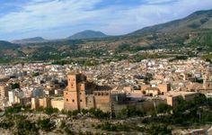 Alcázar de Caravaca de la Cruz, Murcia.
