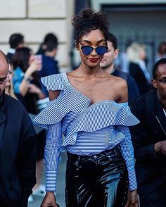 @jourdandunn 這麼穿對抗#MondayBlue很理想啊學起來 #ELLETAIWAN #streetstyle #fashion #style #JourdanDunn #ootd at #HauteCouture #FashionWeek #paris #regram @elleuk  via ELLE TAIWAN MAGAZINE OFFICIAL INSTAGRAM - Fashion Campaigns  Haute Couture  Advertising  Editorial Photography  Magazine Cover Designs  Supermodels  Runway Models