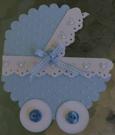 by Arlene Mantle - Cards and Paper Crafts at Splitcoaststampers Baby Shower Crafts, Baby Shower Parties, Shower Gifts, Baby Boy Shower, Baby Shower Decorations, Baby Shawer, Baby Box, Diy Crafts To Do, Paper Crafts