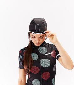 Polka Dot Cycling Cap - Camino Apparel