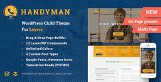 Handyman v1.4.4.4  Craftsman Business WordPress Theme  Blogger Template