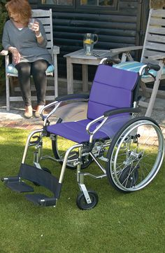 A transit and self-propelled wheelchair in one the CareCo Evolution has removable rear wheels enabling to transform into either wheelchair as required.