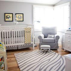 Elephant Themed Baby Nursery | dwellinggawker