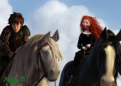 With the dragons gone they have to find a different type of transportation. Hiccup is still adjusting. Dreamworks Animation, Disney And Dreamworks, Disney Pixar, Astrid Hiccup, Merida And Hiccup, Jelsa, The Big Four, Big 5, Fan Army