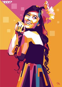 Colorful Girls On Behance
